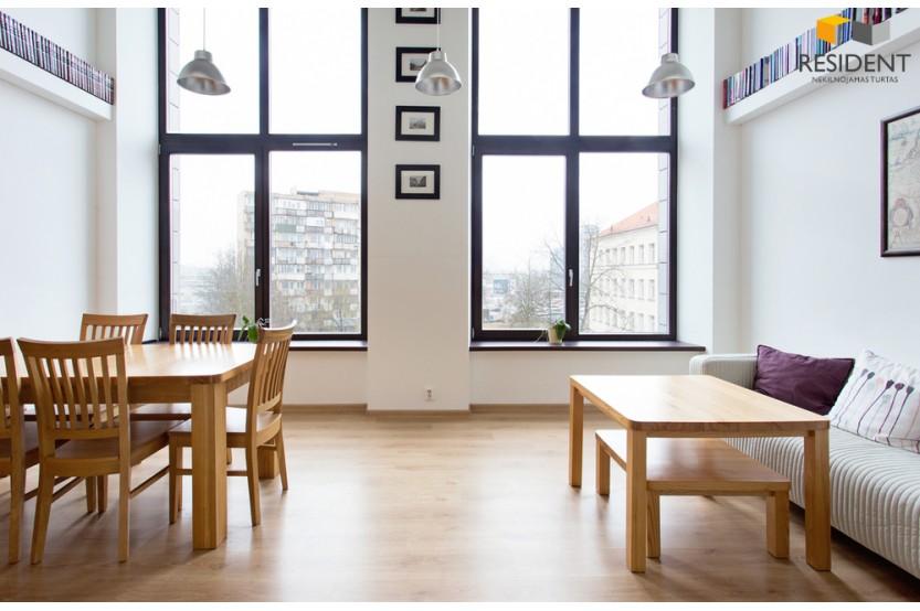 Nuomojamas butas Smolensko g. , Senamiestyje, Vilniuje, 67 kv.m ploto, 2 kambariai