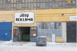 Nuomojamos sandėliavimo patalpos Savanorių pr. , Žemuosiuose Paneriuose, Vilniuje, 300 kv.m ploto