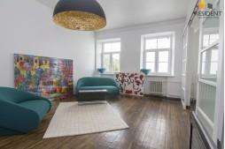 Parduodamas butas Pamėnkalnio g. , Senamiestyje, Vilniuje, 65 kv.m ploto, 2 kambariai
