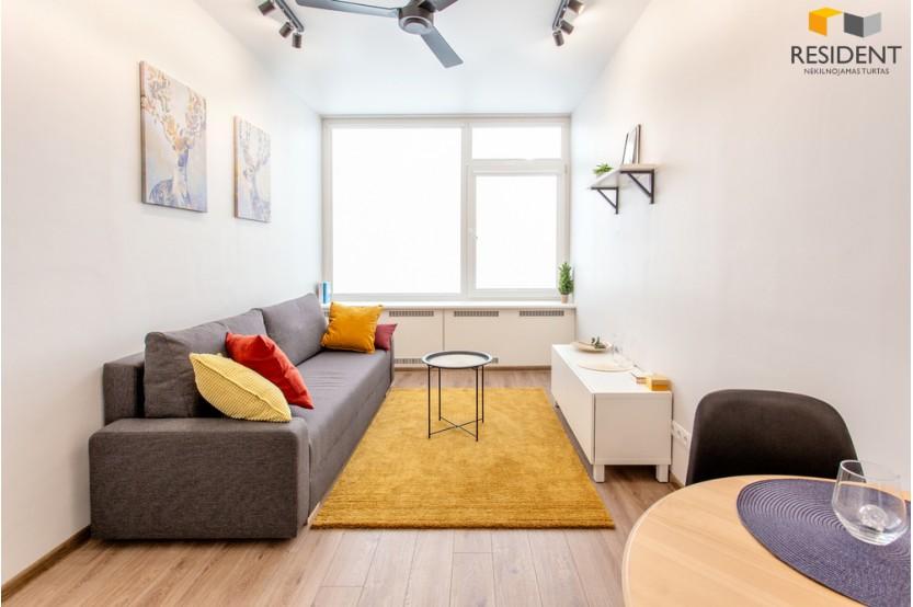 Parduodamas butas Panerių g. 39, Naujamiestyje, Vilniuje, 24.25 kv.m ploto, 1 kambariai
