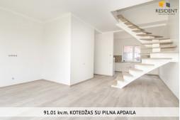 Parduodamas namas Karaliaučiaus g. , Pilaitėje, Vilniuje, 91.01 kv.m ploto, 2 aukštai