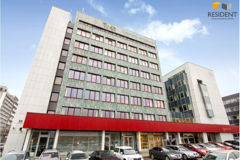 Nuomojamos patalpos Žalgirio g. 88, Šnipiškėse, Vilniuje, 33 kv.m ploto