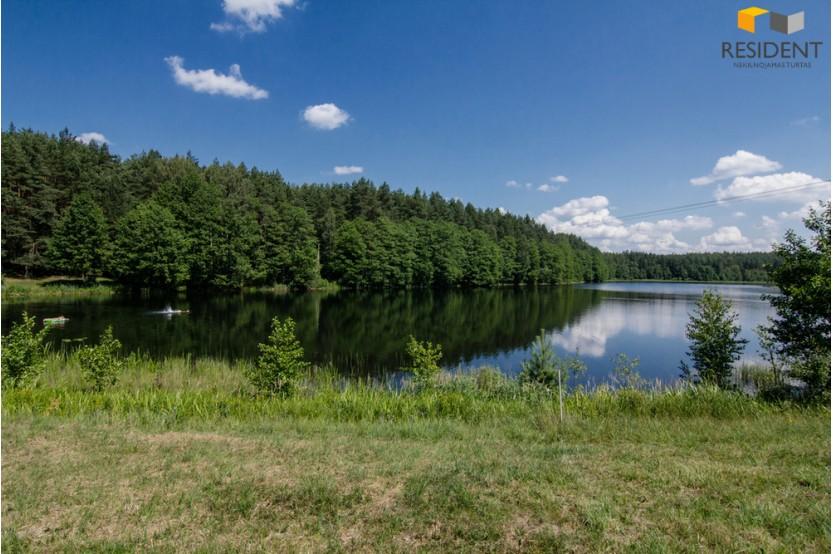 Parduodamas 69 a. sklypas ant ežero kranto Budriškių k.