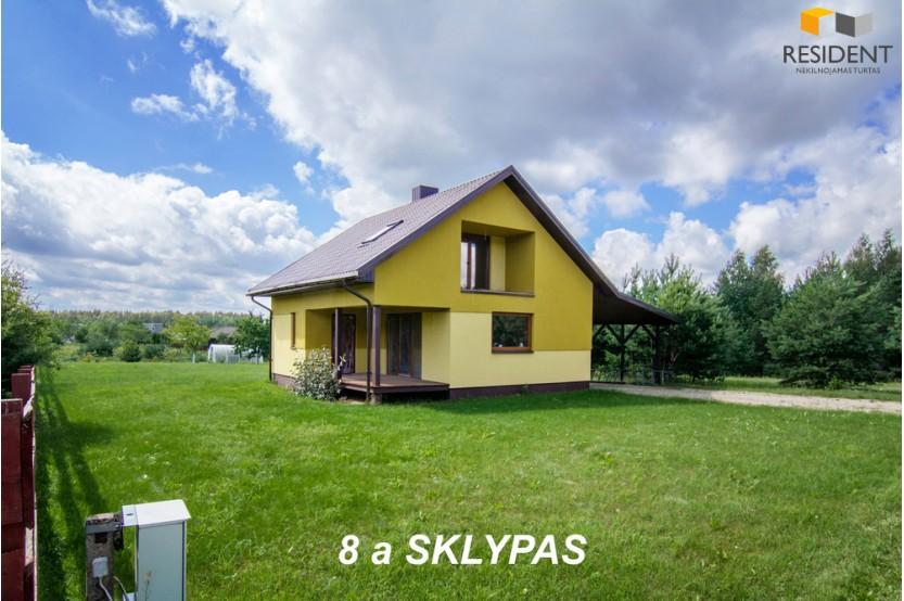 Parduodamas namas Juodiškių g. , Juodiškių k., 110 kv.m ploto, 2 aukštai