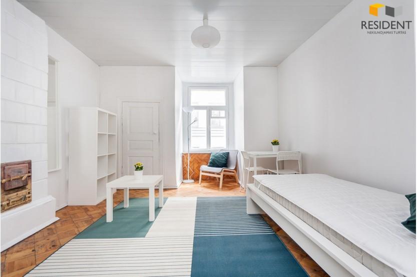 Nuomojamas butas Vingrių g. , Naujamiestyje, Vilniuje, 25 kv.m ploto, 1 kambariai