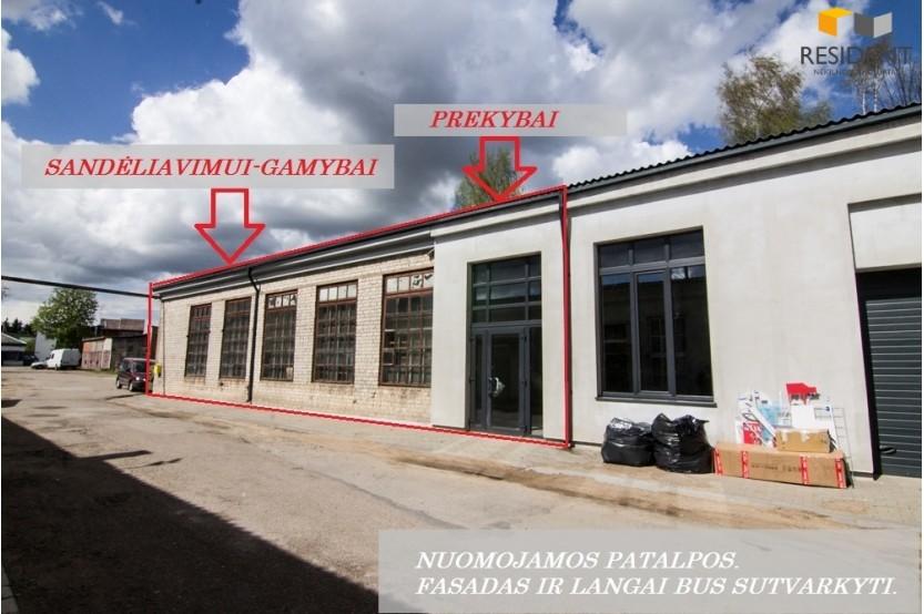 Nuomojamos patalpos Pulko g. , Senamiestyje, Alytuje, 208.26 kv.m ploto