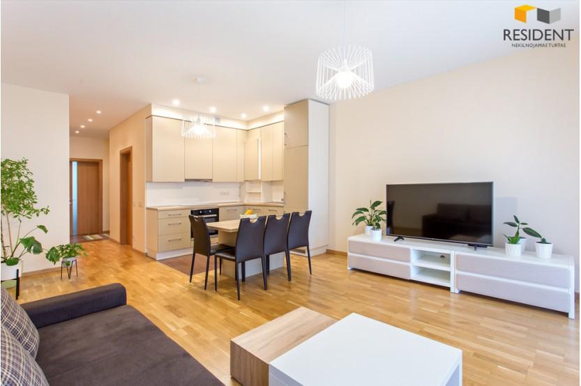 Parduodamas butas Kalnėnuose, Vilniuje, 59.03 kv.m ploto, 2 kambariai