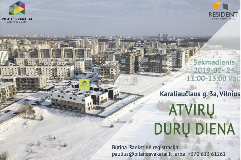 Parduodamas butas Pilaitėje, Vilniuje, 91 kv.m ploto, 4 kambariai