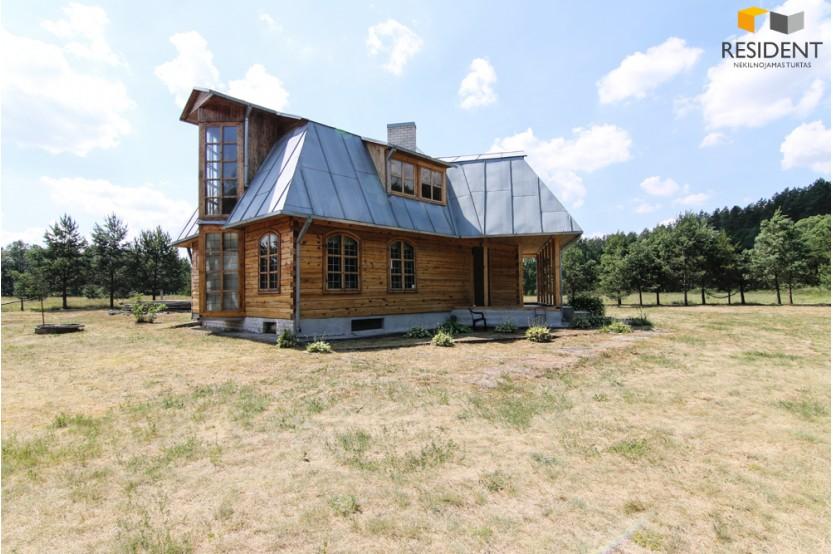 Parduodamas namas Purplių k., 184.24 kv.m ploto, 2 aukštai