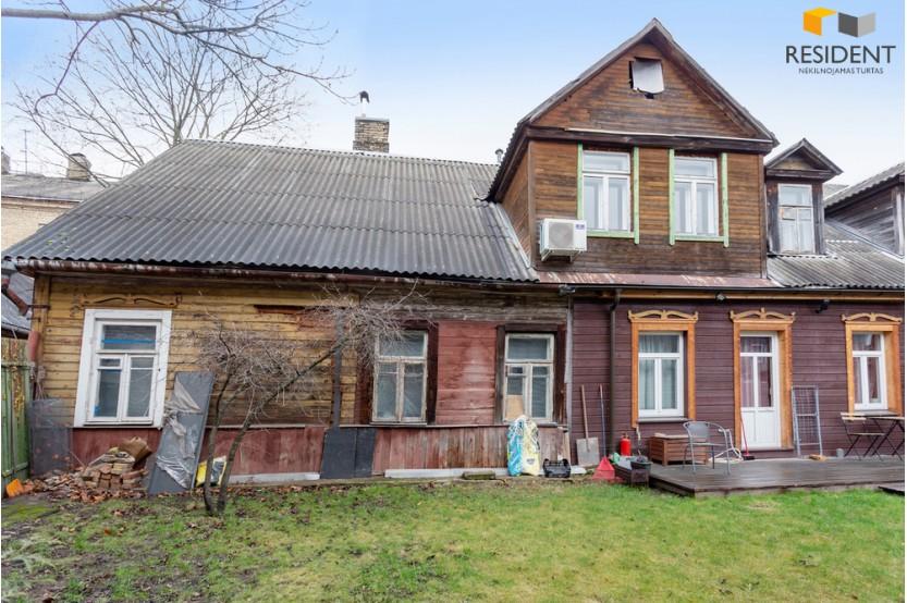 Parduodamas namas Žvėryne, Vilniuje, 82.36 kv.m ploto, 2 aukštai