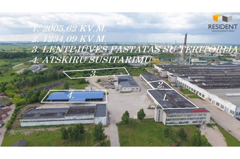 Parduodamos patalpos Naujoji g. , Putinų, Alytuje, 400 kv.m ploto