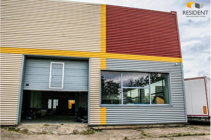 Nuomojamos patalpos Naujoji g. , , Alytuje, 1300 kv.m ploto