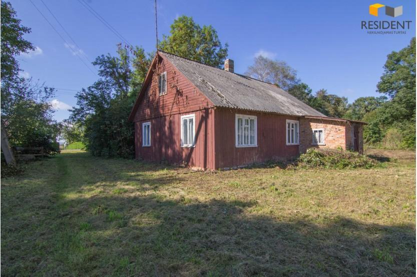 Parduodamas namas Krokininkų k., 81.25 kv.m ploto, 1 aukštai