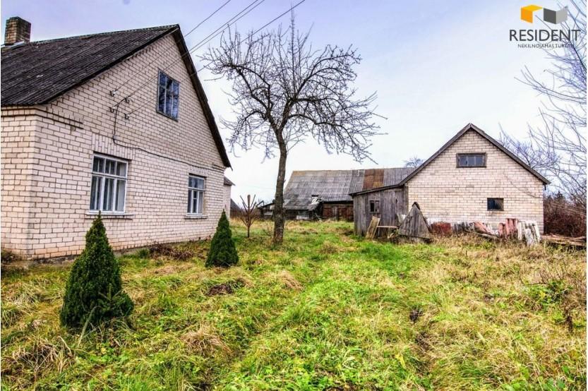 Parduodamas namas Pakrovų k., 113.56 kv.m ploto, 1 aukštai