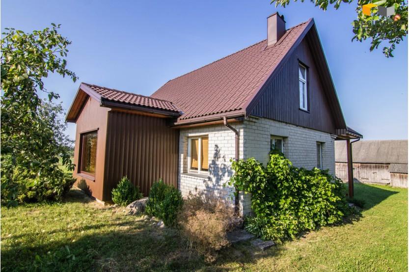 Parduodamas namas Teizininkų k., 160 kv.m ploto, 1 aukštai